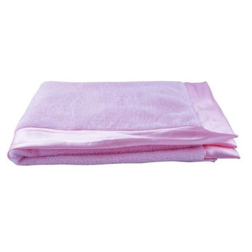 Blue Baby Bum 710560426607 Luxurious Classic Baby Blanket Princes One Size - Pink