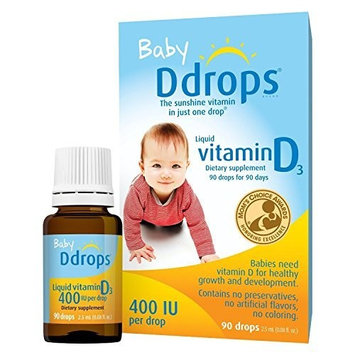 Baby Ddrops® 400 Iu 90 Drops (Pack of 4)