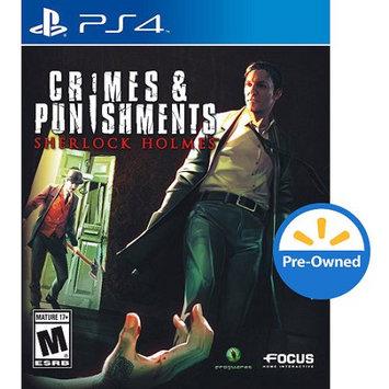 Maximum Family Games Sherlock Holmes Crime & Punishment (PS4) - Pre-Owned