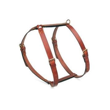 Petego Egr Llc Petego Classic Leather Dog Harness Medium Brown
