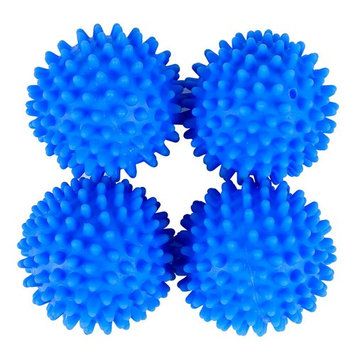 Topeakmart Dryer Balls 4 Pack Blue- Reusable Dryer Balls Replace Laundry Drying Fabric Softener
