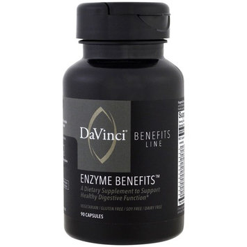 DaVinci Benefits, Enzyme Benefits , 90 Capsules