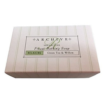 Archive Essentials Green Tea & Willow Soap 1.25oz Each, Set of 8