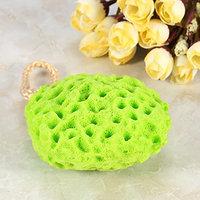 Bath Shower Sponge Soft Body Spa Exfoliator Washing Cleansing Scrubber Ball Beauty 4 Colors