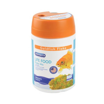 Central Garden And Pet Interpet LIFE FOOD Tropical Fish Food Flakes, 2.2oz