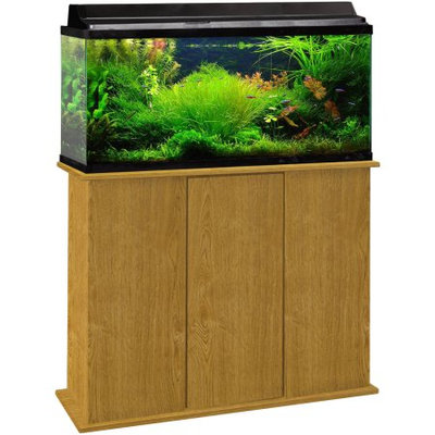 Marco 30-45 Gallon Upright Aquarium Stand, Brown