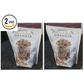 Trader Joe's Organic Fruit & Seed Granola 10 OZ (283 g) - 2 Pack