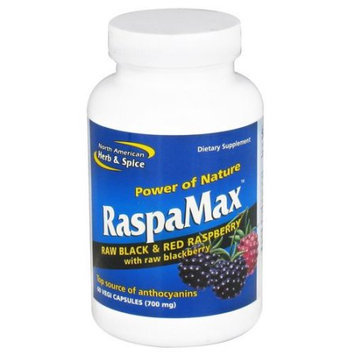 North American Herb Spice North American Herb and Spice RaspaMax - 60 Vegetarian Capsules - 1528512
