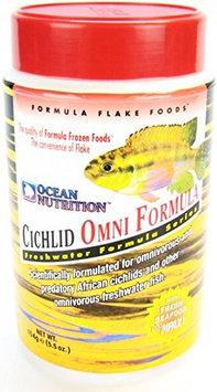Ocean Nutrition Cichlid Omni Flakes: 5.5 oz