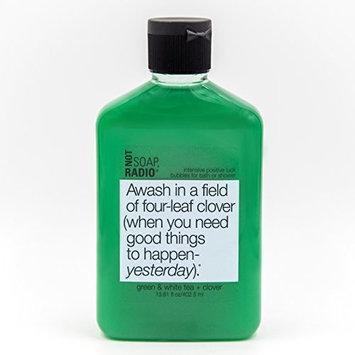 Aromatherapy Body Wash - Green Tea, White Tea & Clover - Intensive Positive Luck Formula - 13.6oz [Body Wash]