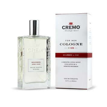 Cremo Spray Cologne Bourbon and Oak - 3.4oz