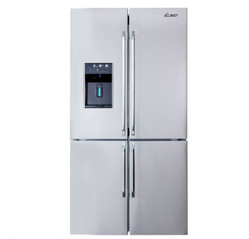 Dacor DTF364SIWS Distinctive 4 French Doors Refrigerator in Stainless Steel