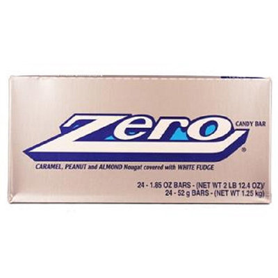 ZERO Candy Bar (1.85-Ounce Packages, Pack of 24)