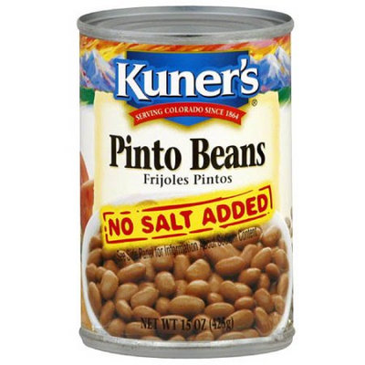 Kuner's Pinto Beans, 15 oz (Pack of 12)