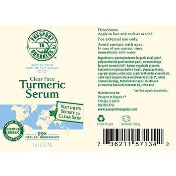 Clear Face Turmeric Serum - Paraben Free!