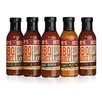 JB's Best All Natural Beer-Infused BBQ Sauce - Honey Mustard
