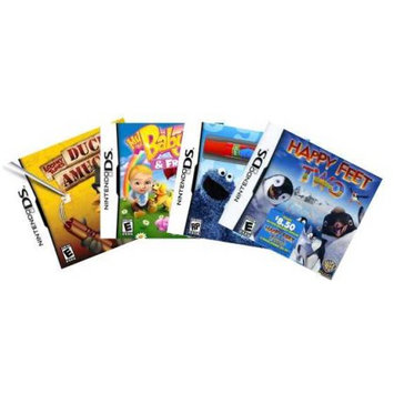 Alliance Distributors Nintendo DS Family Value Pack with 4 games (DS)