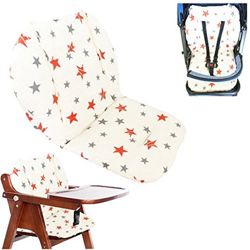 Ancho Baby Stroller/Highchair/Car Seat Cushion Protective Film Breathable Waterproof high chair pad (Double Star)