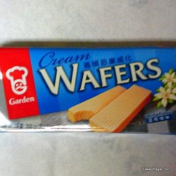 Garden - Cream Wafers - Vanilla Flavour (Net Wt. 7 Oz.)