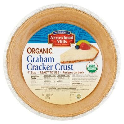 Arrowhead Mills Organic Graham Cracker Crust, 6 oz, 12 pack