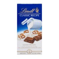 Lindt Classic Recipe A000487 Milk Chocolate & Pretzel Bars 12 Ct.