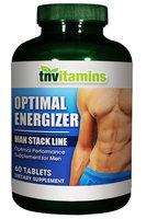 Tnvitamins Man Stack - Optimal Energizer - 60 Tablets