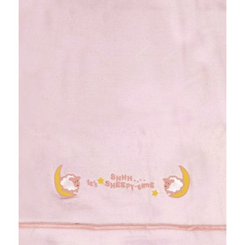 Manual Woodworkers Shhh It's Sleepy Time Blanket - Pink