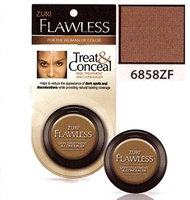 Zuri Flawless Treat & Conceal Skin Treatment & Concealer - Ebony (Pack of 4)
