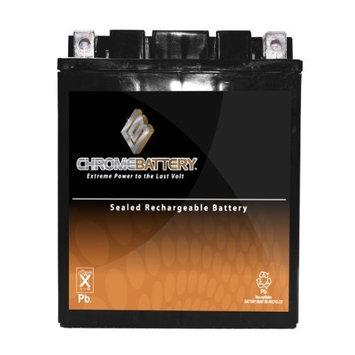 YTX14AH-BS ATV Battery for YAMAHA YFM350G, FG Grizzly 350CC 07-'09