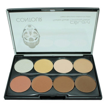Celavi Contour and Highlight 8 Color Palette Easy To Use Kit