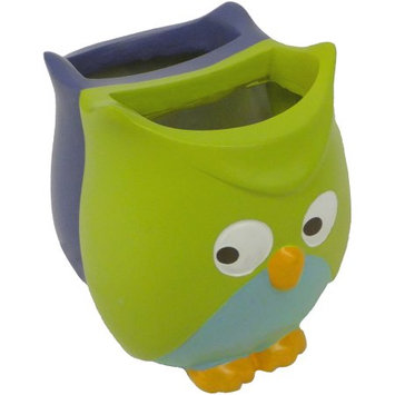 Saturday Knight, Ltd. Mainstays Whooty Hoot Decorative Bath Collection Toothbrush Holder