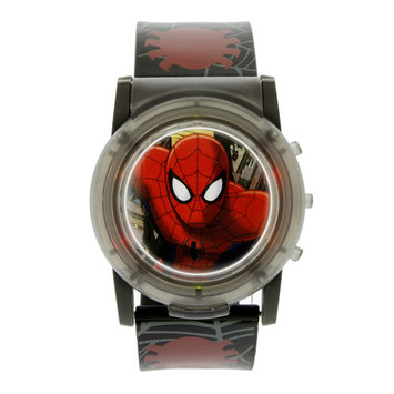 Marvel Spiderman Flashing Musical LCD Watch