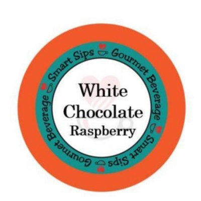 Smart Sips Coffee White Chocolate Raspberry Flavored Coffee, 48 Count, Compatible With All Keurig K-cup Machines