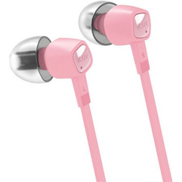 Iluv Iep386Pnk Jetturbo Smartphone High-Performance Earphones With Speakez Remote, Pink