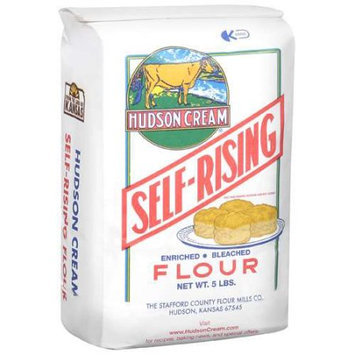 Hudson Cream: Self-Rising Bleached Enriched Flour, 5 Lb