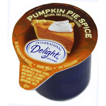 International Delight Mini Pumpkin Pie Spice Coffee Creamer Singles (7/16 Fl Oz Each), 50 Count Bulk Package