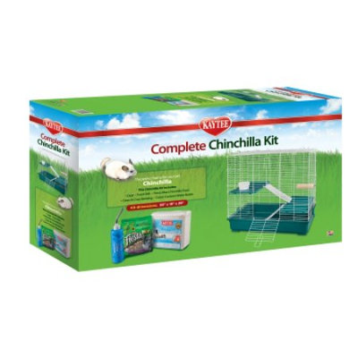 Super Pet-cage Super Pet 100511107 Kaytee Complete Chinchilla Kit