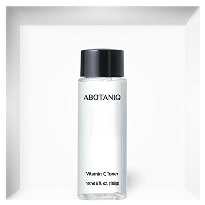 Vitamin C Toner For all skin types. Advanced Anti Aging Formula with Vitamin C. Helps firm and tone skin with natural botanicals and potent antioxidants. 6 fl. oz. / 180ml by ABOTANIQ