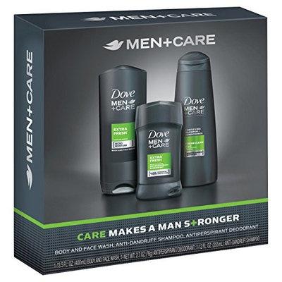 Dove Men+Care Extra Fresh Bath and Body Gift Set (3Pcs)