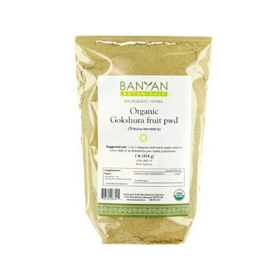 Banyan Botanicals - Organic Gokshura Fruit Powder Tribulus Terrestris - 1 lb.