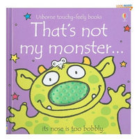 That's Not My Monster (Touchy-Feely Board Books)