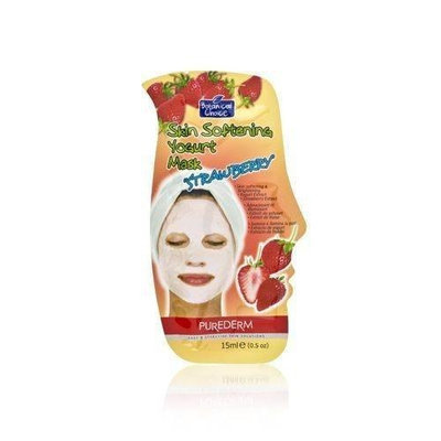 Purederm Botanical Choice Skin Softening Yogurt Mask - Strawberry 15ml/0.5oz