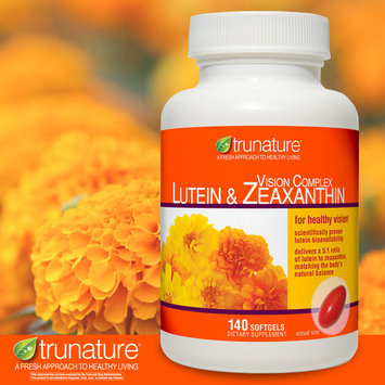 trunature Vision Complex Lutein & Zeaxanthin 140 Softgels