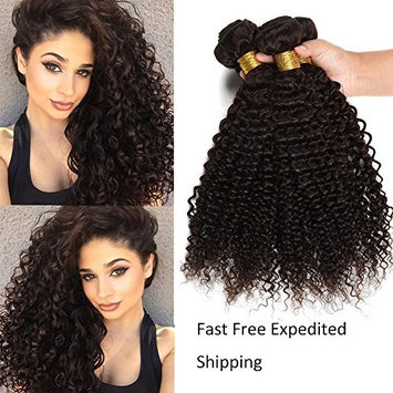 XCCOCO Hair 8A Peruvian Curly Weave Cheap Jerry Curly Virgin Human Hair 100% Unprocessed Remy Kinkys Curly Hair Extensions 100g/Bundle(3 Bundles,10 12 14inch)