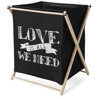 Elements Folding Laundry Bag