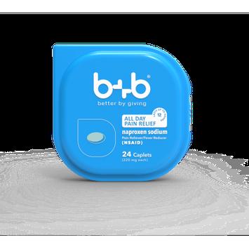 Bb b+b Naproxen Sodium Caplets, 24-Count