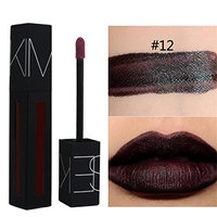 Hunputa Lipstick,Women Professional New KIMUSE 12Colors Shine Lip Gloss Long Lasting Non-stick Cup Lipstick
