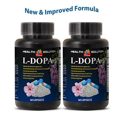 Mood health - L-DOPA (MUCUNA PRURIENS EXTRACT) - Dopabean - 2 Bottles 120 Capsules