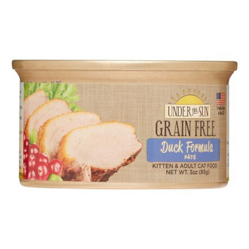 Animal Supply Company CD82039 Grain Free Duck Pate For Cat - 3 oz.