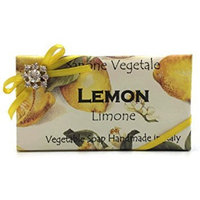 Great Gift Idea Sapone Vegetable Soap, Lemon, Limone 300g- 10.5 oz